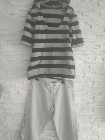 Tunika ciążowa +spodnie na lato 44