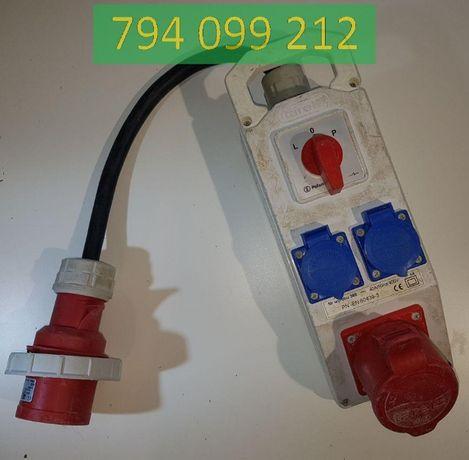 Rozdzielnica IP44 L-0-P 1x32A / 5+2x16A