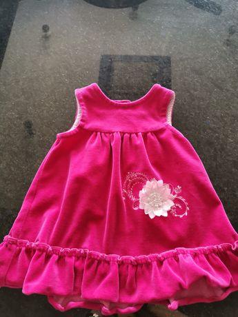 Sukienka różowa 86