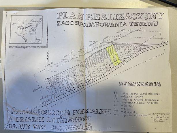 Działka rekreacyjna Guzowatka (gmina Dąbrówka)