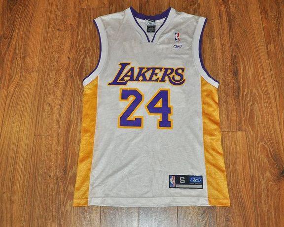 Kobe Bryant 24 jersey koszulka S reebok koszykarska kosz NBA LA Lakers