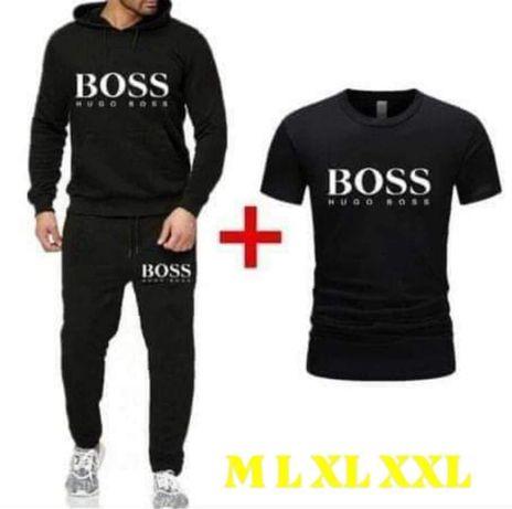 Komplet męski Hugo Boss dres + koszulka M L XL XXL