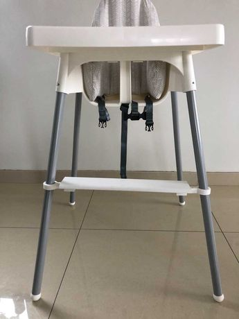 Apoio pés cadeira de bebé IKEA e Continente