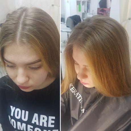 Прикорневой обьем (буффант/бустап), окрашивание волос, стрижки