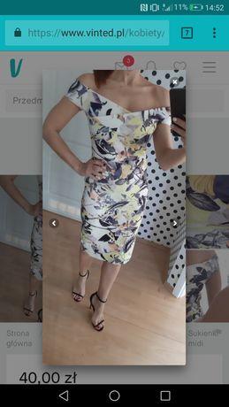 Śliczna sukienka l xl
