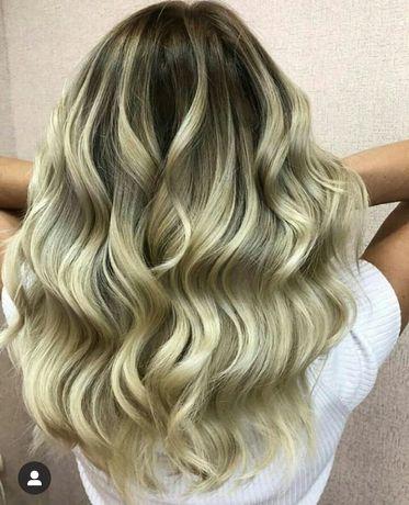 Окрашивание волос , свадебные причёски, стрижки