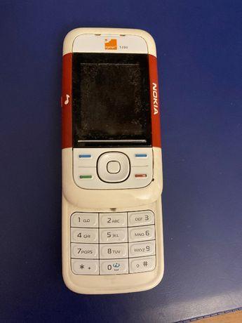 Nokia rozsuwana 5200- czerwona