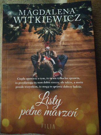"""Witkiewicz M. """"Listy pełne marzeń """""""