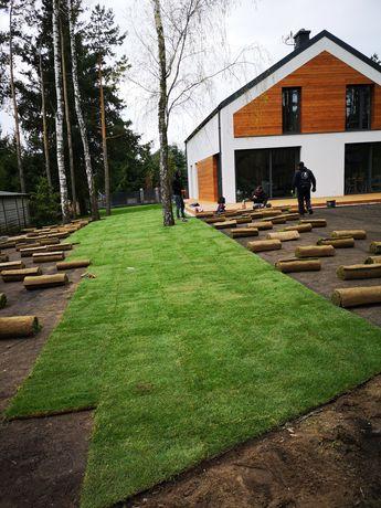 *Trawnik z rolki* trawnik siany * automatyczne nawadnianie