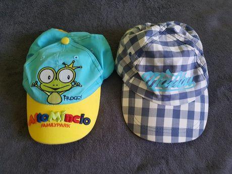2 czapki z daszkiem dla chłopca