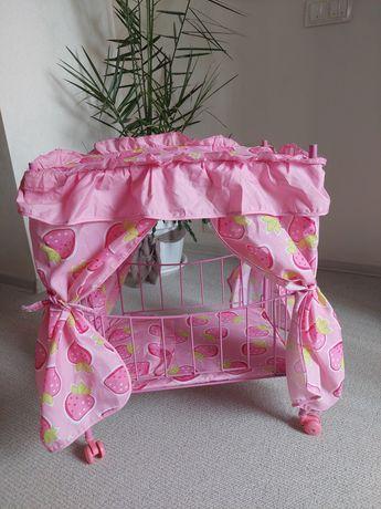 Кроватка игрушечная для кукол раскладная