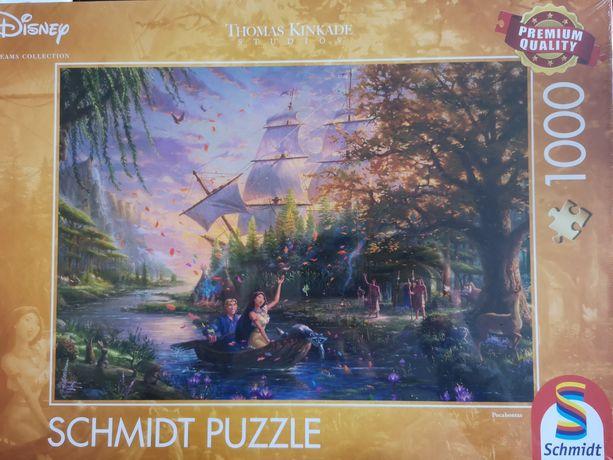 NOWE puzzle Schmidt 1000el Disney Pacahontas