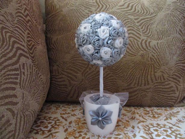 Drzewko pamiątka na prezent komunia - handmade