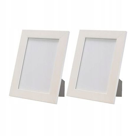 Ikea NYTTJA biała ramka na zdjęcia 10x15cm
