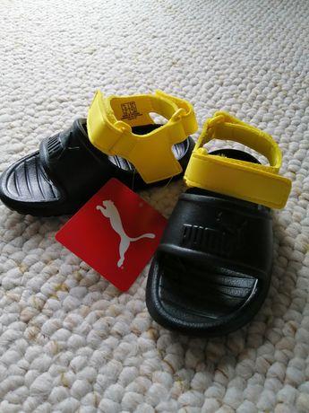 Sandałki sandały buciki Puma nowe 23