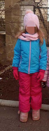Зимняя термокуртка + комбинезон в подарок