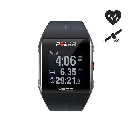 Pulsómetro Polar V800 Preto + Sensor H7 dá a Frequência Cardíaca