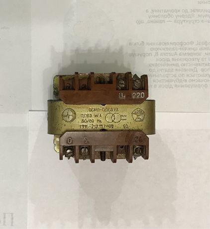 Трансформатор ОСМ1-0,063 УЗ 220/24В