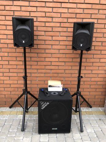 Акустическая система 1600 вт Vonyx колонки акустика из Германии
