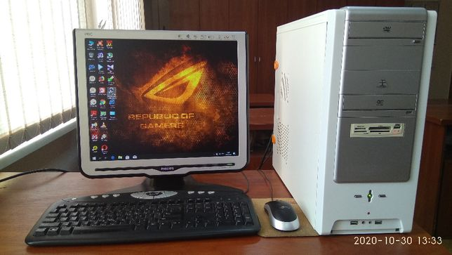 Игровой компьютер,AM3,AMD Phenom 955 II X4 3,2Ghz,HD6850 1GB,ОЗУ 8 GB