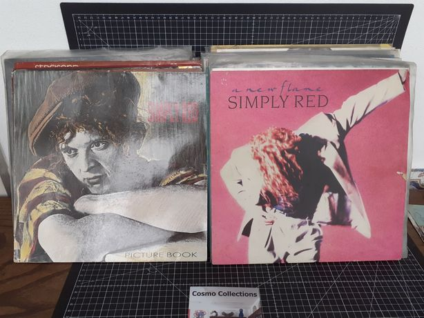LPs Simply Red. A new Flame e Picture Book