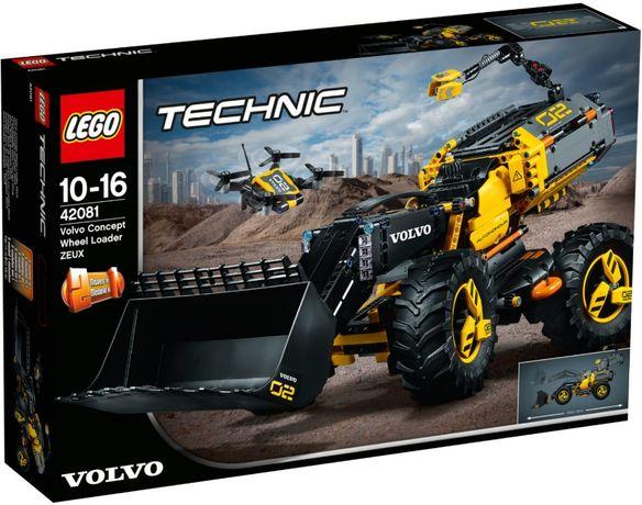 Lego 42081 Technic Volvo колесный погрузчик ZEUX 2 в 1