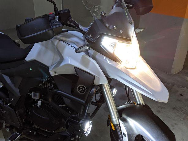 2021 Vortex 125cc 2400km 1,9L/100