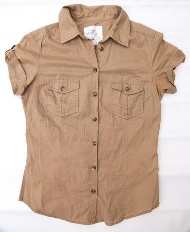 Koszula H&M, Safari, beżowa, 34