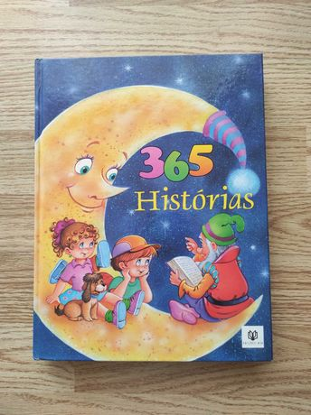 Livro 365 Histórias. Ilustrações De Carlos Busquets - Novo