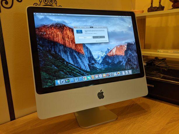 """Продам iMac 1224 (20"""", mid 2007), C2D 2x2 2.0/2GB/250GB/Radeon HD 2400"""