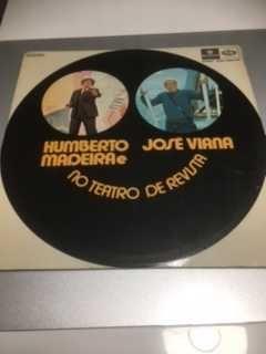 Disco vinil Humberto Madeira e José Viana no teatro de revista