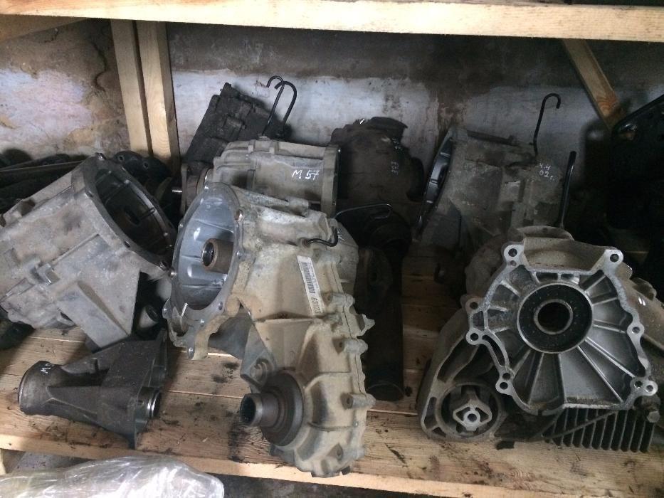 BMW X5 X6 E53 E70 E71 раздатка редуктор привод полуось 3.91-3.73-3.64