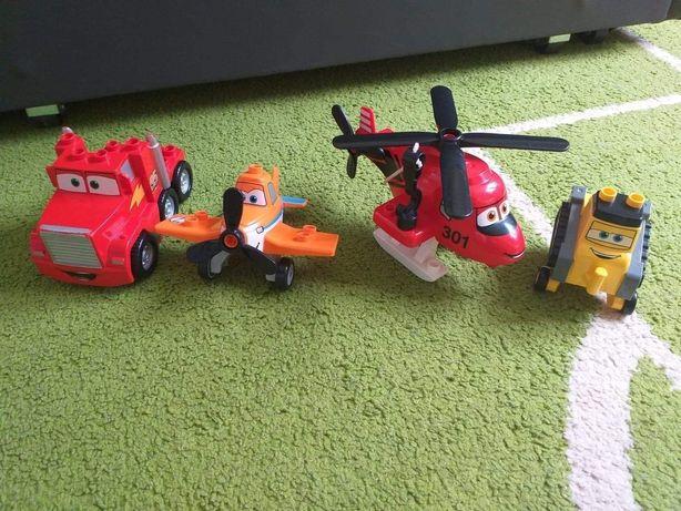 Lego duplo- auta, samoloty