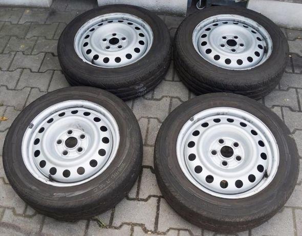 / VW / SEAT / SKODA / Koła / Felgi Stalowe + Opony Lato 16'' /