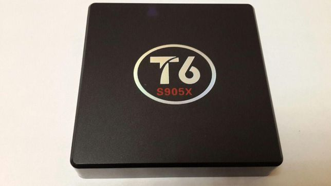 Smart tv приставка (смарт тв) T6 1/2gb, 16г, 4я 64бит Android box 7.1