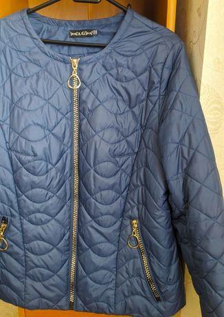 Укороченная стёганая курточка
