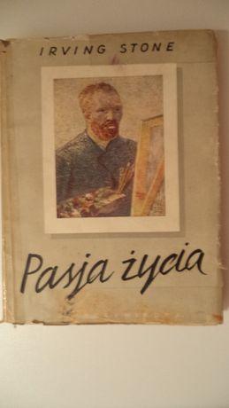 Pasja życia Irving Stone ANTYK biografia Van Gogha