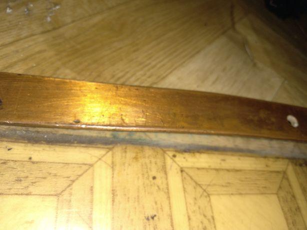 Планка рейка медная полоска