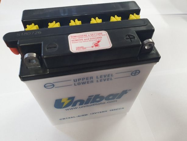 Akumulator Unibat CB12AL-A YB12AL-A 12Ah 165A 12V NOWY