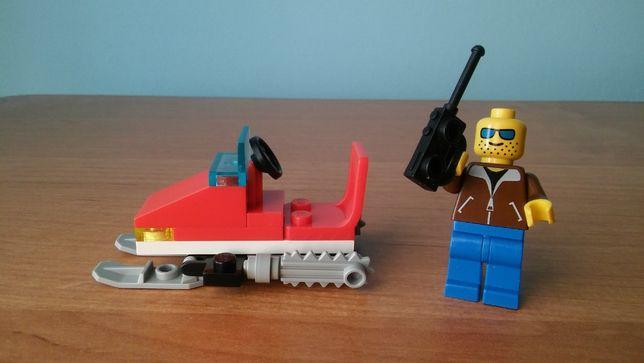 Klocki Lego seria Town, Snowmobile 1710 / 1994 Skuter śnieżny
