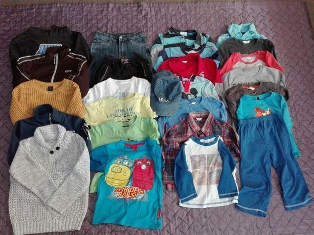 Zestaw ubrań w rozmiarze 92-110