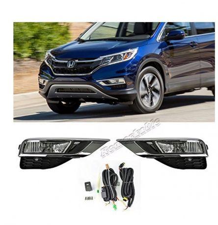 Honda CR-V HR-V USA 2012-2014 2015-2016 2017 2018 противотуманки
