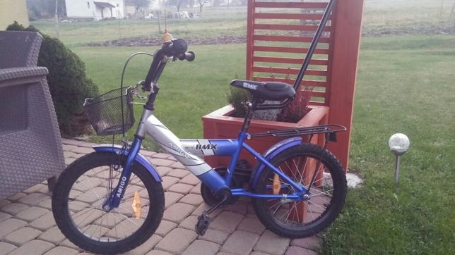 Rower Dziecięcy w bardzo dobrym stanie + gratis