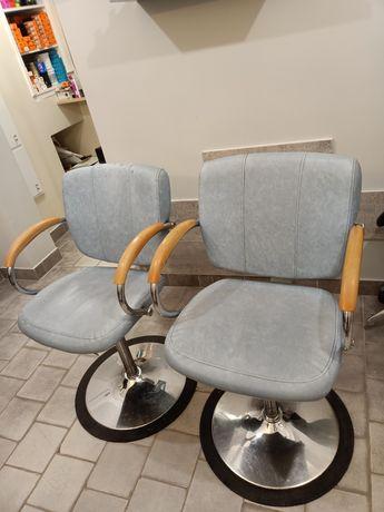 Fotel fotele krzesła fryzjerskie kosmetyczne