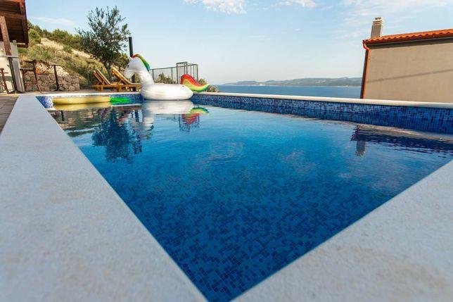All inclusive dom apartamenty Chorwacja basen posiłki Riwiera Makarska