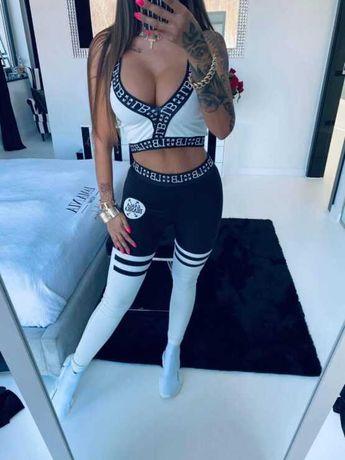 Komplet sportowy fitness Lola Bianka