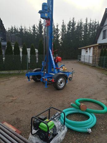 Wiertnica do studni głębinowych- zarejestrowana (50 metrów)