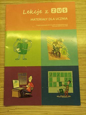 Lekcje z ZUS Materiały dla ucznia