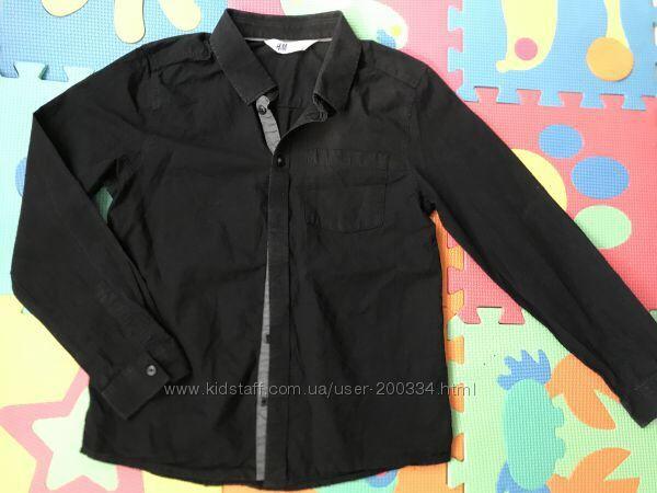 Рубашка H&М р.122-128