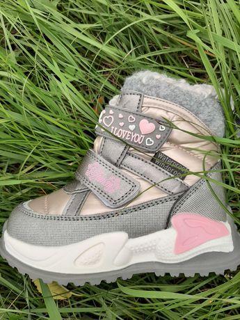 Сноубутсы термоботинки ботинки зимние мембрана для девочки
